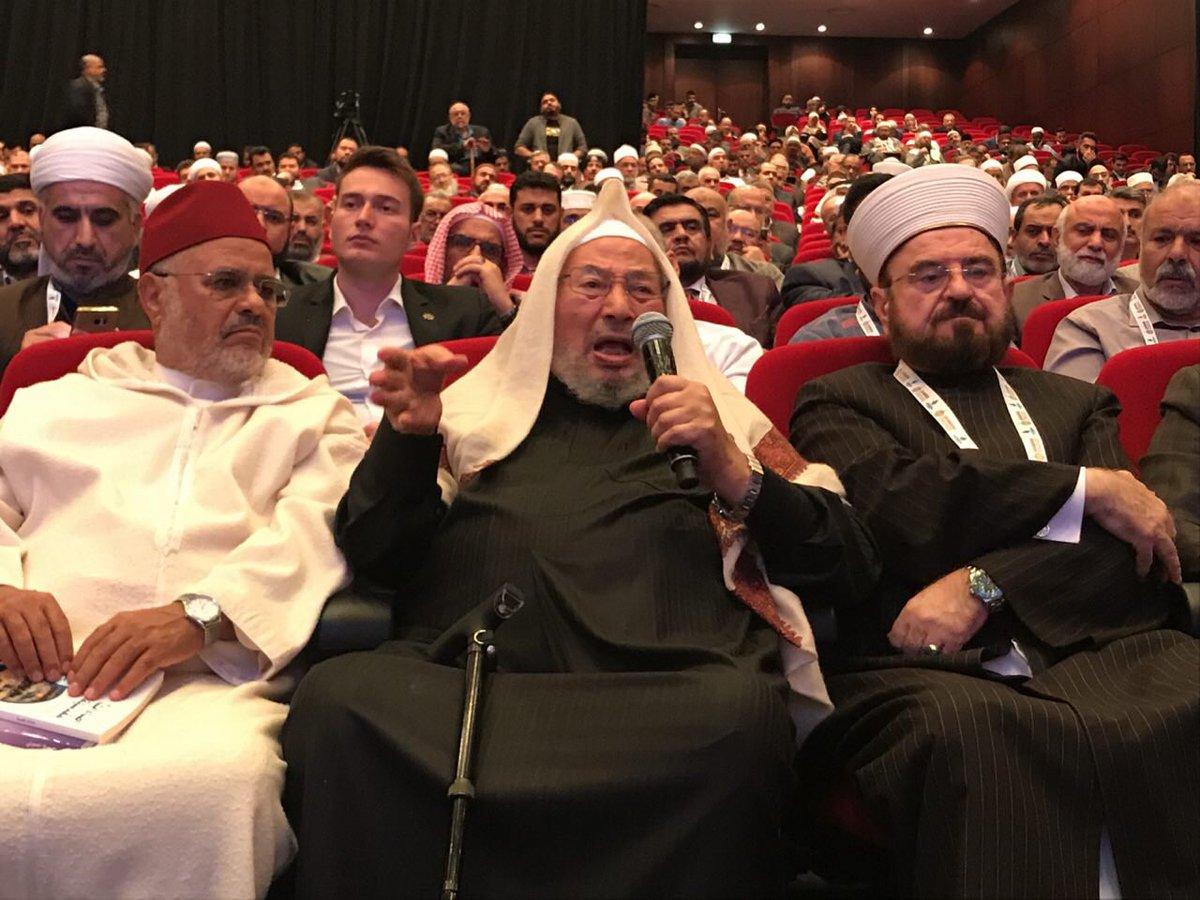 Pidato Menggugah Al-Qaradawi Tentang Khashoggi dan Erdogan
