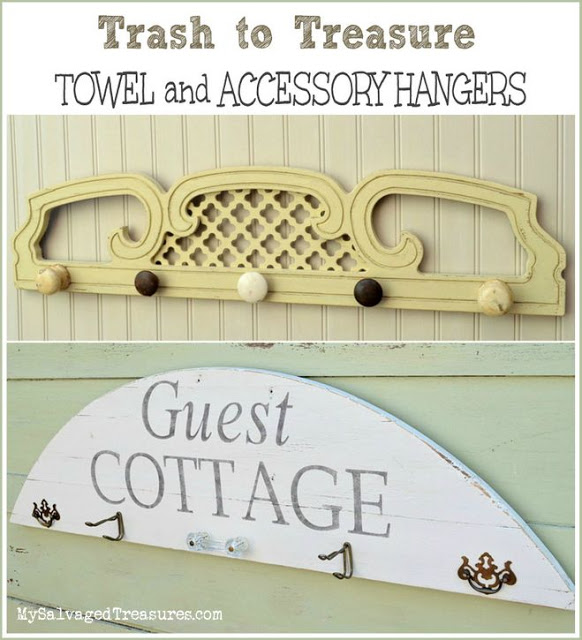 Cottage Towel and Accessory Hangers