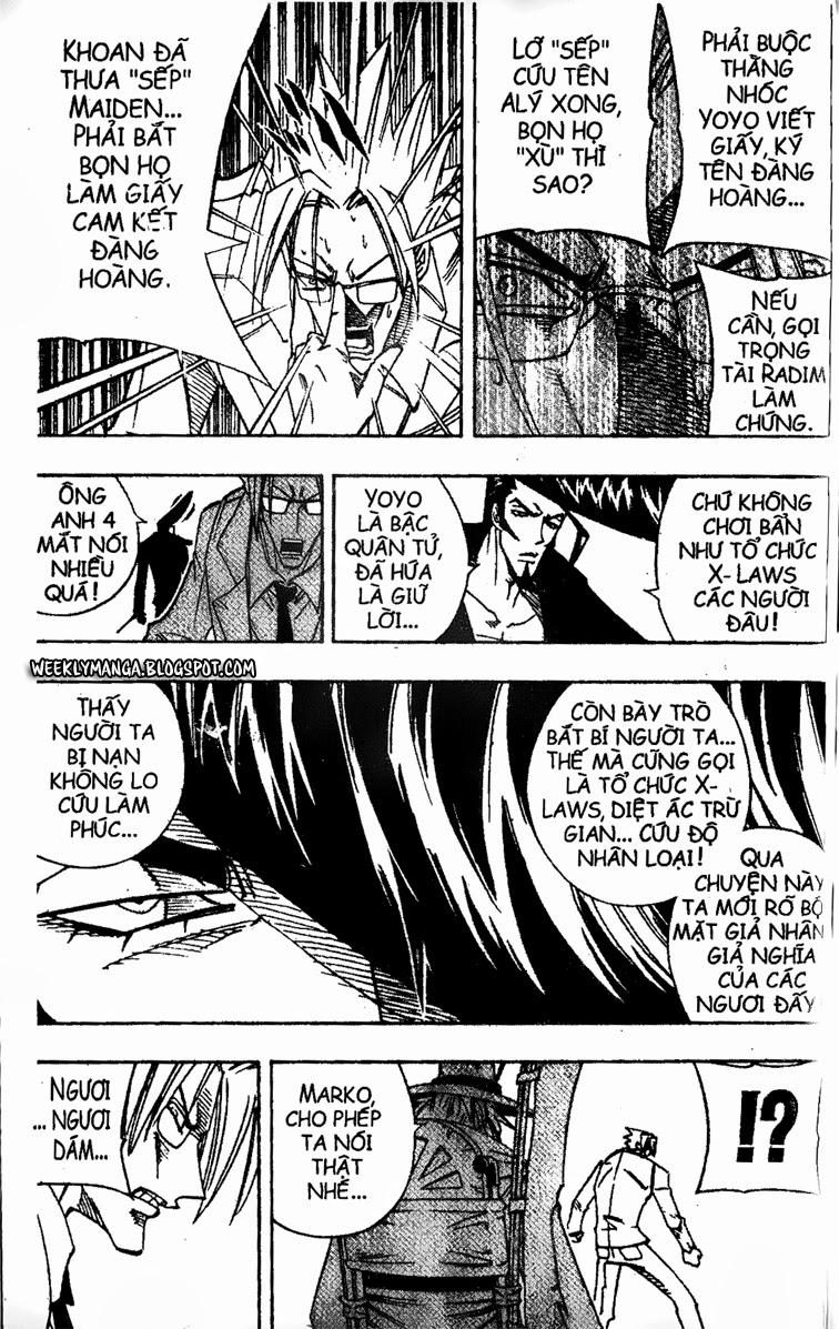 Shaman King [Vua pháp thuật] chap 162 trang 7