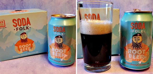Soda Folk Root Beer.