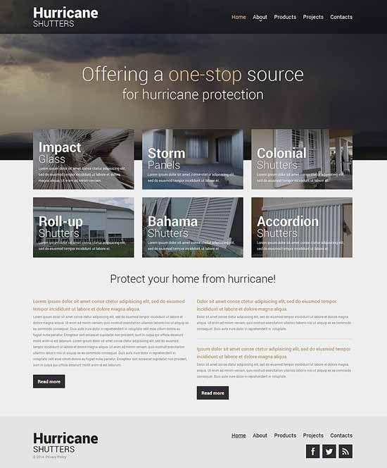Interior design furniture website templates 2016 for Interior design websites free