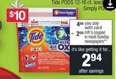 Tide Detergents