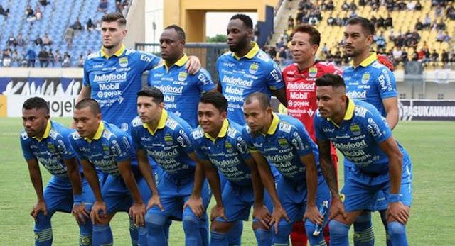 Line-up Persib Bandung Liga 1 2020