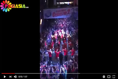 Beredar Video Viral Flash Mob Pendukung Ahok- Djarot di Citos Bersama Dengan Para Artis Pendukung Badja