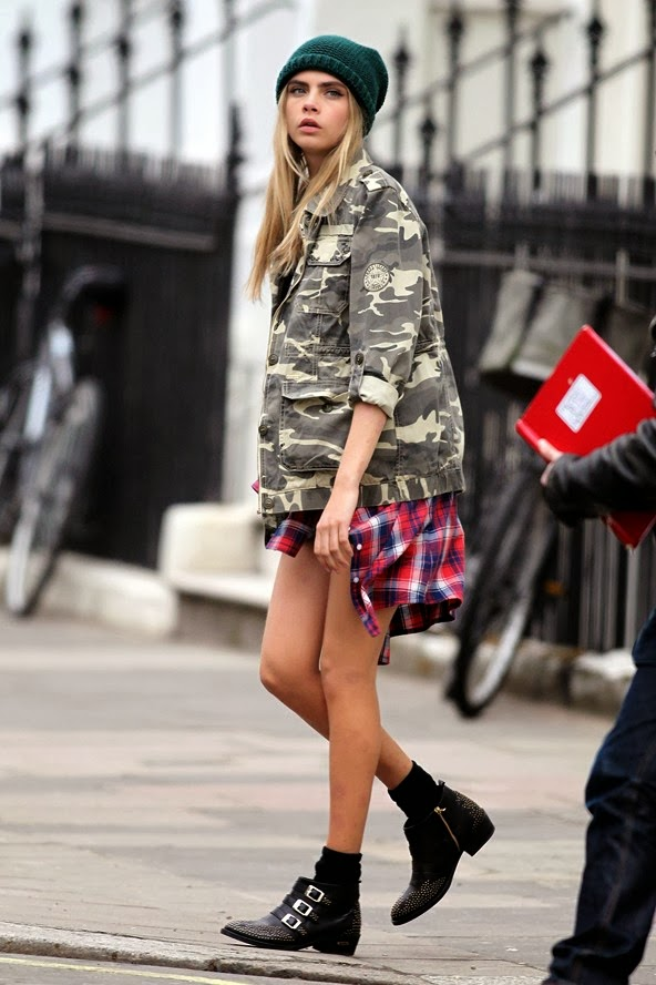 Style Inspiration Cara Delevingne Grunge Style Cool Chic Style Fashion