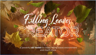 Projects – VideoHive – Falling Leaves Creator – 28411446 [AEP]