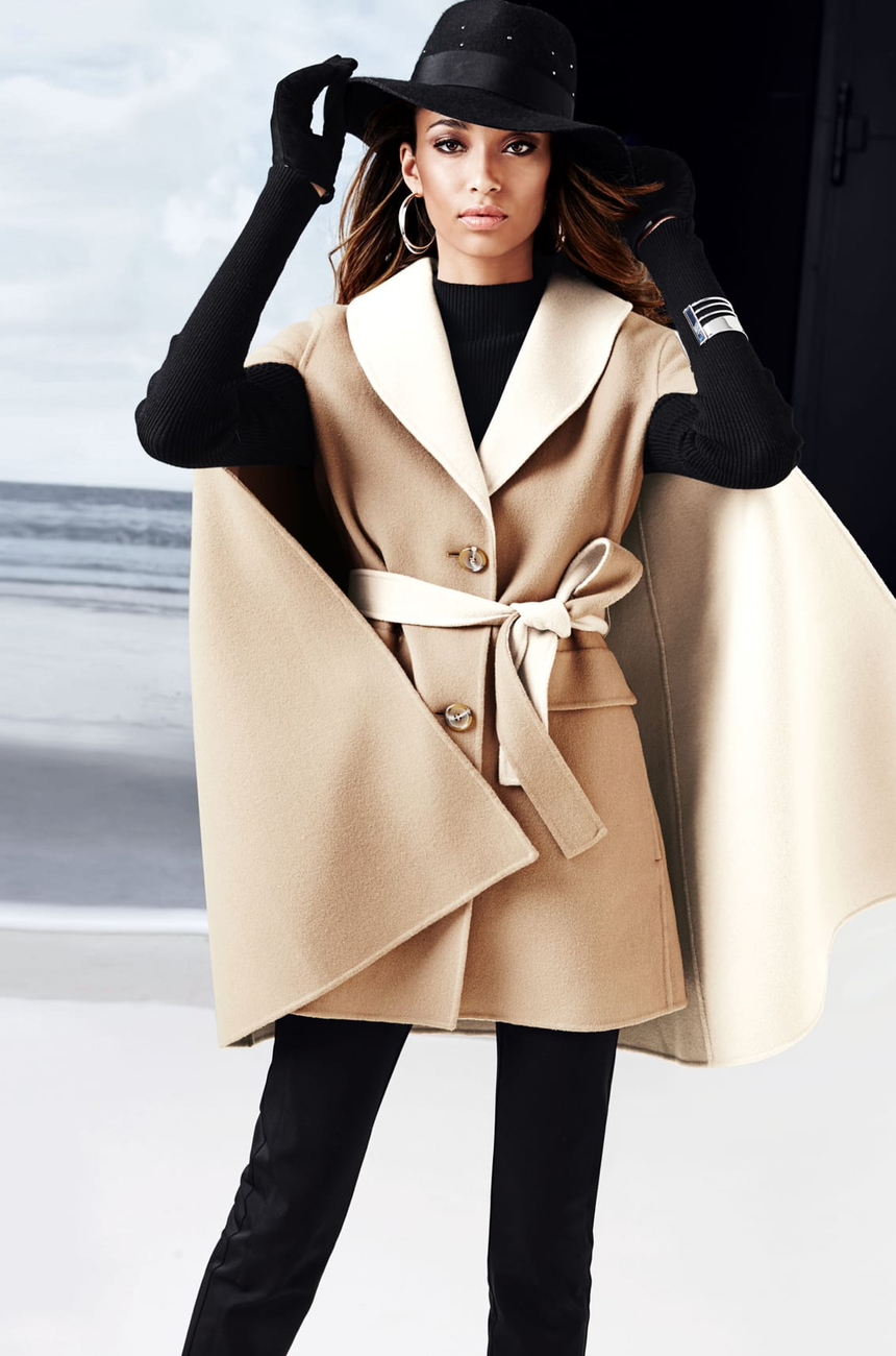 Madeleine Pure Wool Coat Natural