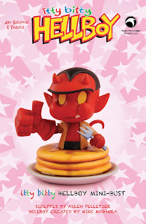 Skelton Crew Studio Itty Bitty Hellboy Mini-Bust by Baltazar and Franco