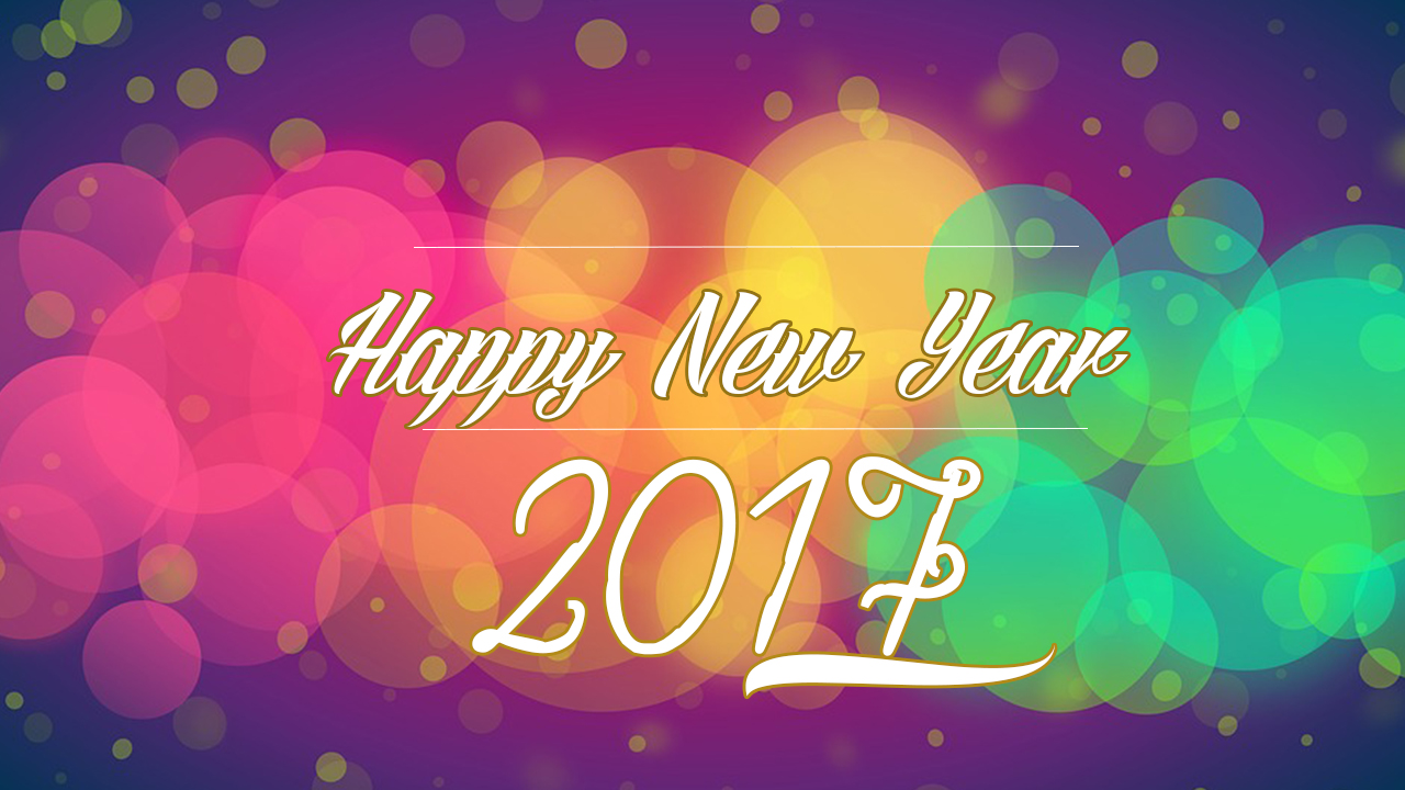 happy new year 2017 image