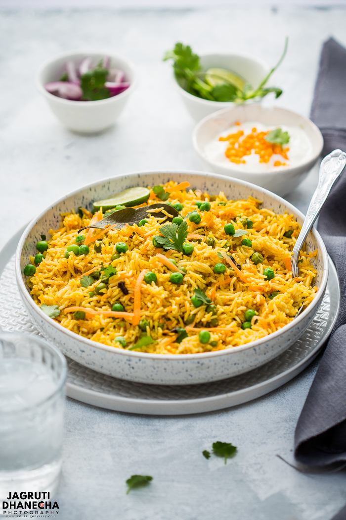This aromatic Carrot and Coconut Pulao Rice is packed with flavours and comes together in such a short time and it's a crowd pleaser!