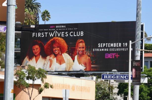 First Wives Club TV remake billboard