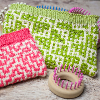 How to Mosaic Loom Knit Tutorial