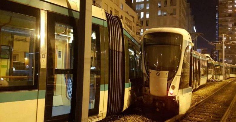 إصابة 12 شخصا في حادث تصادم عربتي ترام في فرنسا
