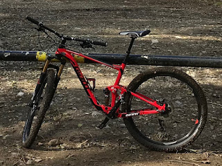 Bicycle Recovered - Giant Anthem 1