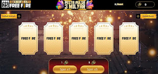 Cara Dapat Pulsa 3 Milyar di Event 2nd Anniversary Free Fire