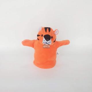 Boneka Tangan Hewan Macan Animal Hand Puppets