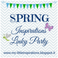 Spring Inspirations Linky Party - My Little Inspirations