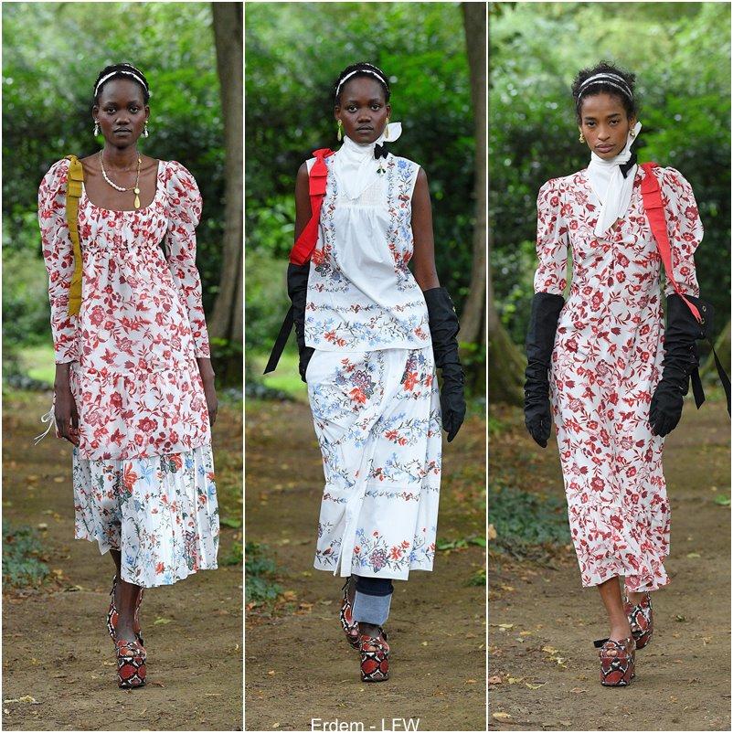 London Fashion Week - Coleção Erdem primavera e verão 2021