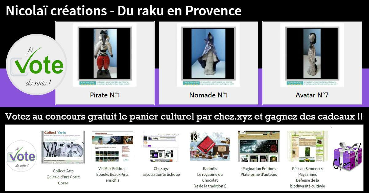 nicolai creations du raku en provence