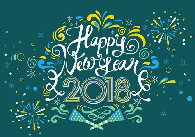 feliz Año Nuevo 2018 Imagenes in Ingles