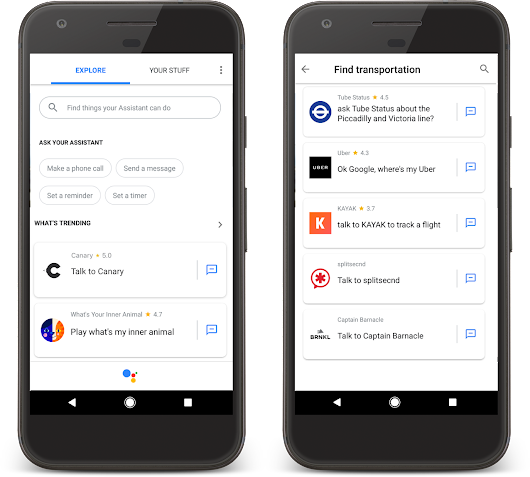 Help users find, interact & re-engage with your app on the Google Assistant