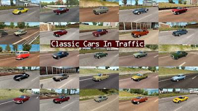 Classic Cars Traffic Pack by TrafficManiac v3.4