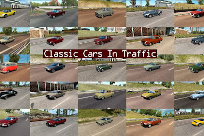 Classic Cars Traffic Pack by TrafficManiac v3.4
