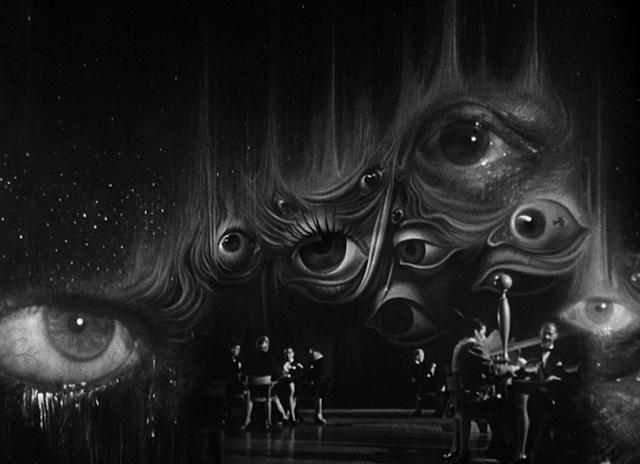 Decorados de Salvador Dalí para la película Spellbound de Alfred Hitchcock