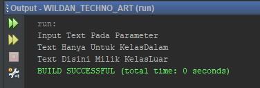 Contoh Penggunaan Konsep Shadowing pada Java