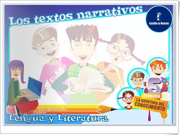 """""""Los textos narrativos"""" (Aplicación interactiva de Lengua Española de Primaria)"""