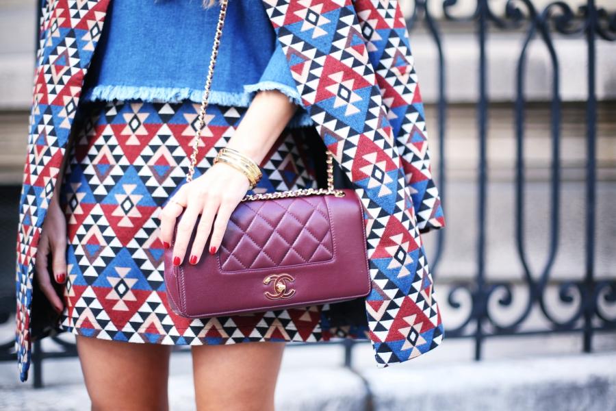 Blog De Moda Y Lifestyle Denim Blouse And Matchy Matchy