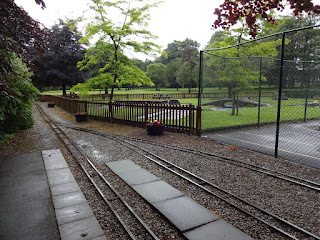 Miniature Railway at Manor Park in Glossop