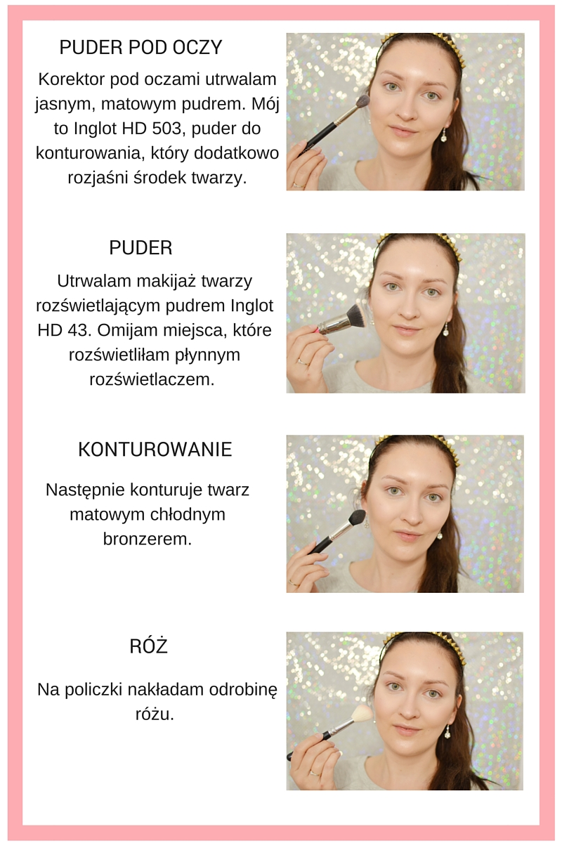 makijaż tutorial serenity rose quartz