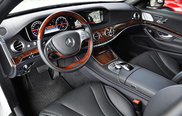 Nội thất Mercedes S400 L sang trọng tinh tế và tiện nghi