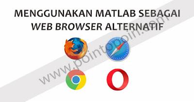 Menggunakan Web Browser dengan MATLAB