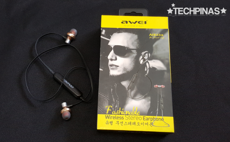 Awei A860BL Bluetooth Earphones