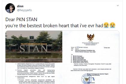 Info Penerimaan PKN STAN 'TIDAK DIBUKA' Tahun 2020 Trending di Twitter
