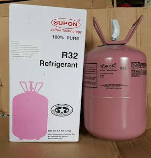 So sánh ưu nhược điểm các loại gas điều hòa R22, R410A, R32