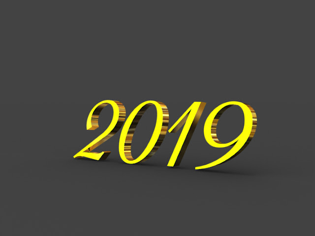 2019 new year 2019 3d hd images