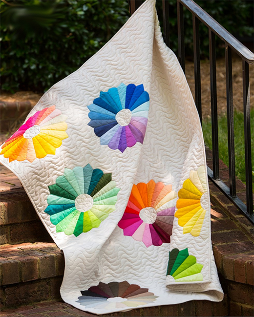 Color Spoken Here Quilt Free Pattern