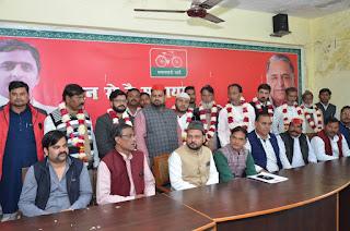 समाजवादी अल्पसंख्यक सभा की जिला कार्यालय पर बैठक, जिले के तमाम लोग सपा में शामिल