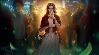 Aerith Gainsborough, Final Fantasy 7, Remake, Art, 4K, #3.2000