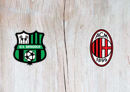 Sassuolo vs Milan Full Match & Highlights 21 July 2020