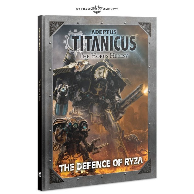 The Defense of Ryza- Adeptus Titanicus