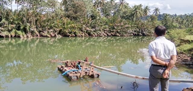 Duhh...Tambang Galian C di Sungai   Mangottong Beroperasi, Tak Kantongi Izin?