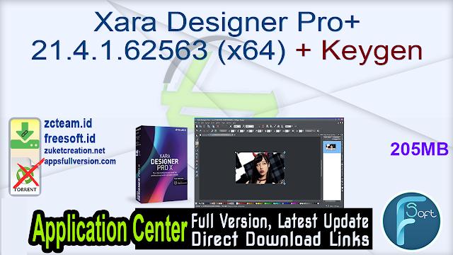 Xara Designer Pro+ 21.4.1.62563 (x64) + Keygen_ ZcTeam.id