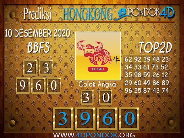 Prediksi Togel HONGKONG PONDOK4D 10 DESEMBER 2020