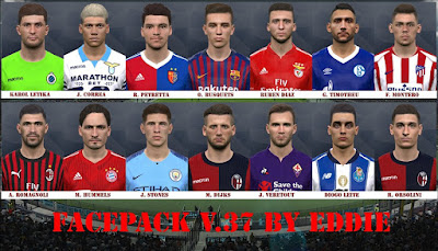 PES 2017 Facepack vol 37 by Eddie Facemaker