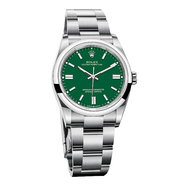 Rolex Oyster Perpetual 36 mm Green
