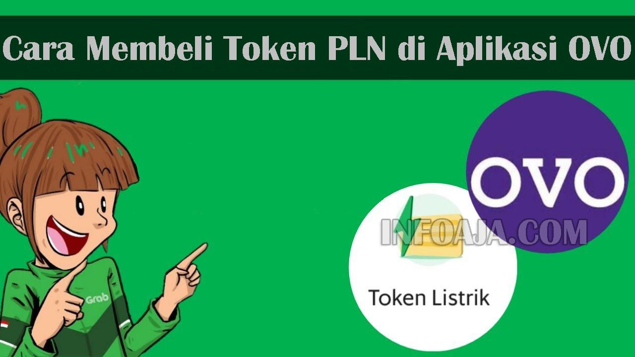 Cara Membeli Token PLN di OVO